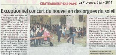 Concert chato9 mv alain provence b