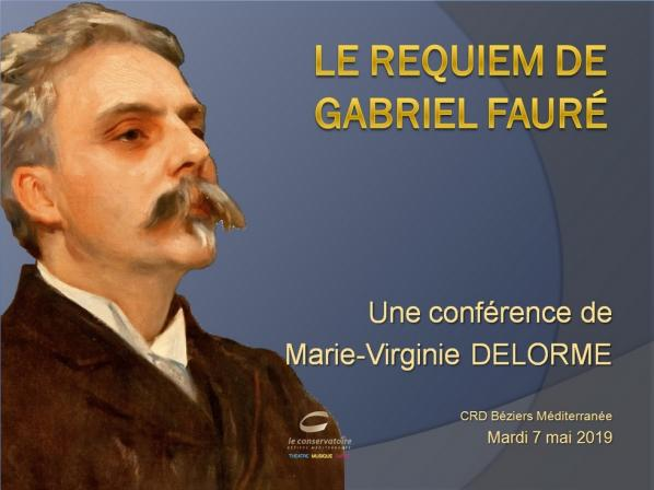 Conference delorme faure