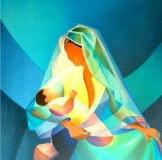 La maternite bleue