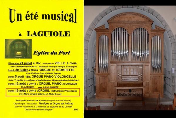 Musical laguiole 2019