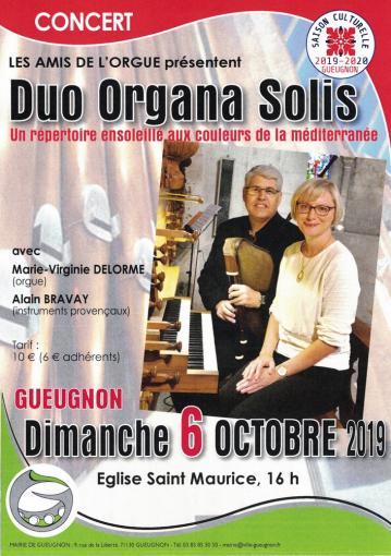 Organa solis gueugnon bravay delorme 2019
